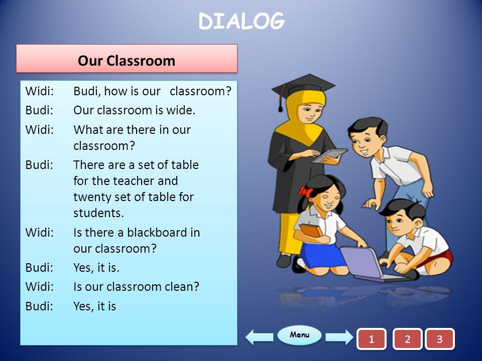 DIALOG Our Classroom.