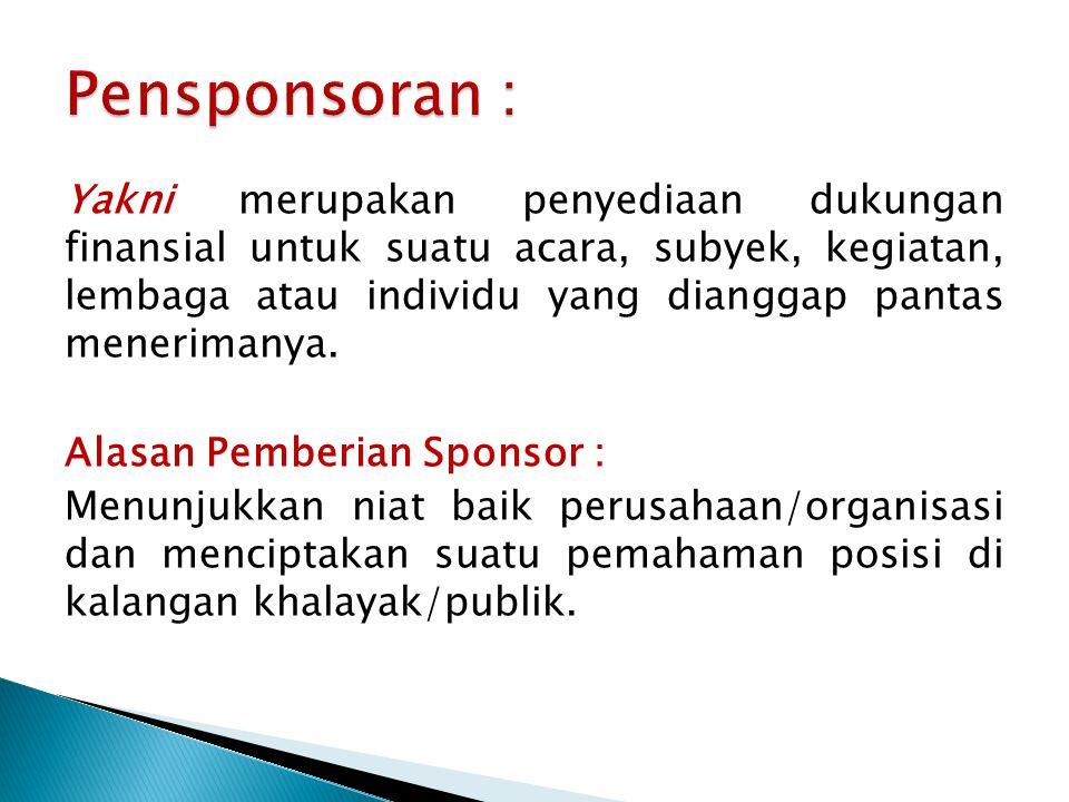 Pensponsoran :