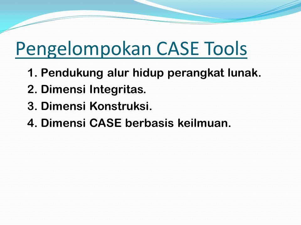 Pengelompokan CASE Tools