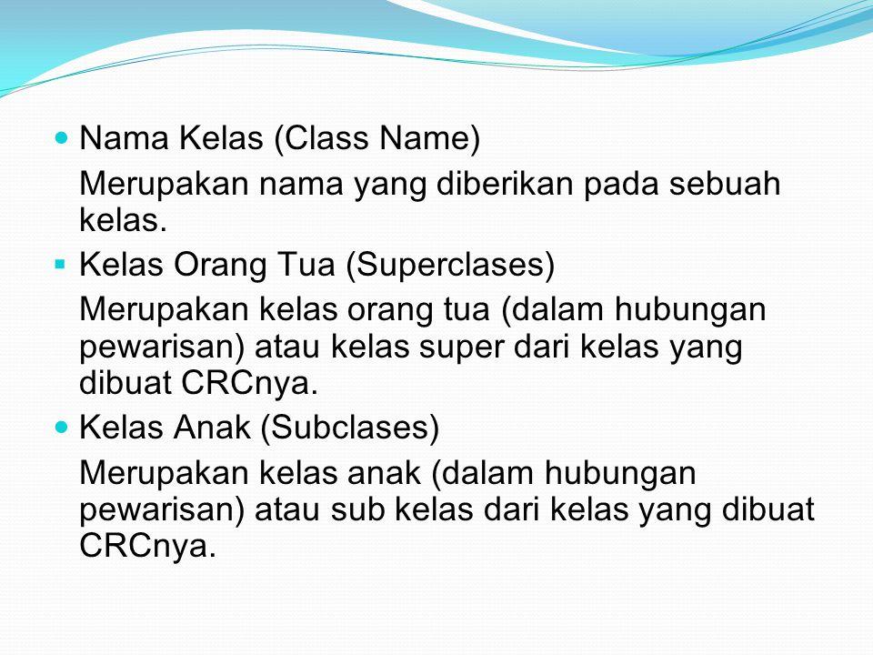 Nama Kelas (Class Name)