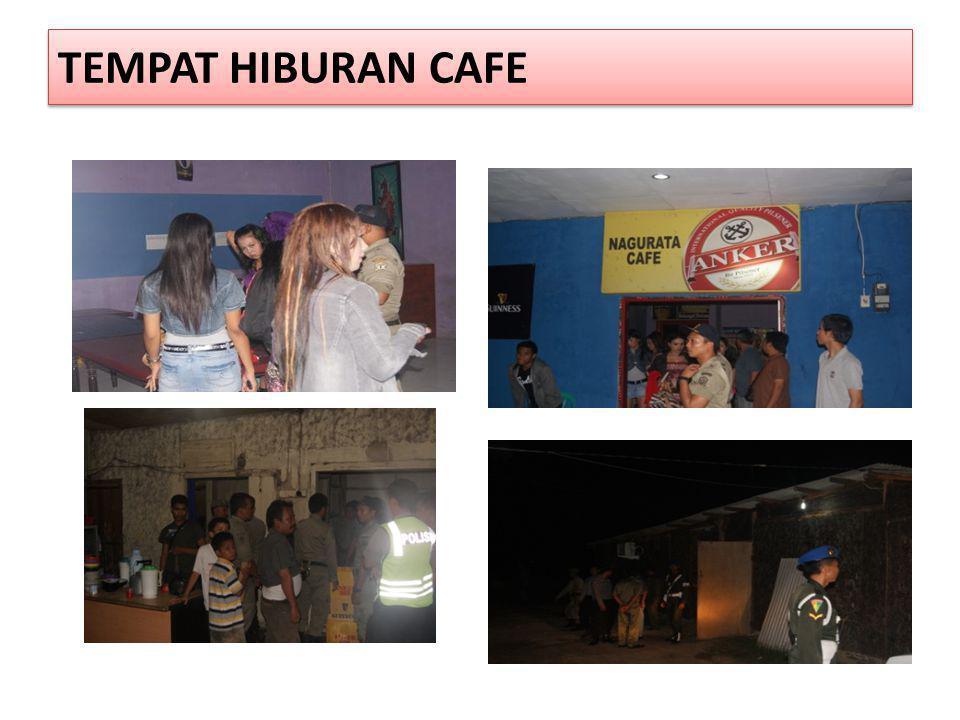 TEMPAT HIBURAN CAFE
