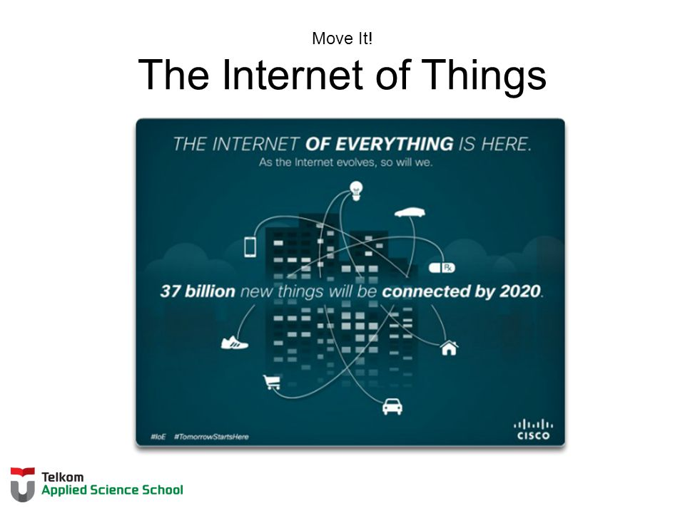 Move It! The Internet of Things