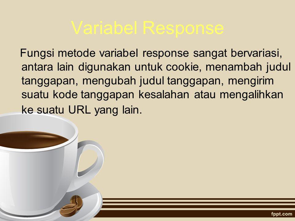 Variabel Response