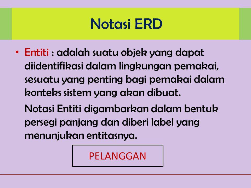 Notasi ERD
