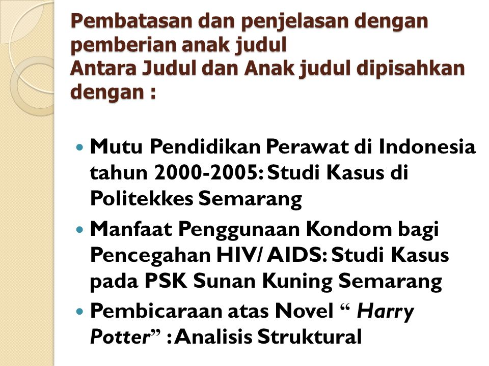 Pembicaraan atas Novel Harry Potter : Analisis Struktural