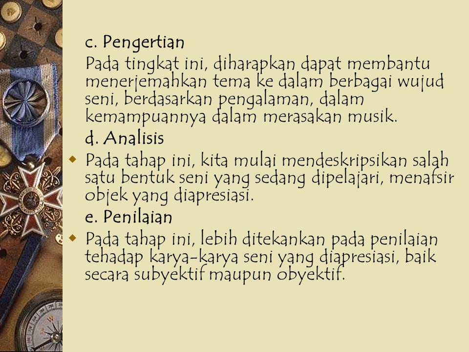 c. Pengertian