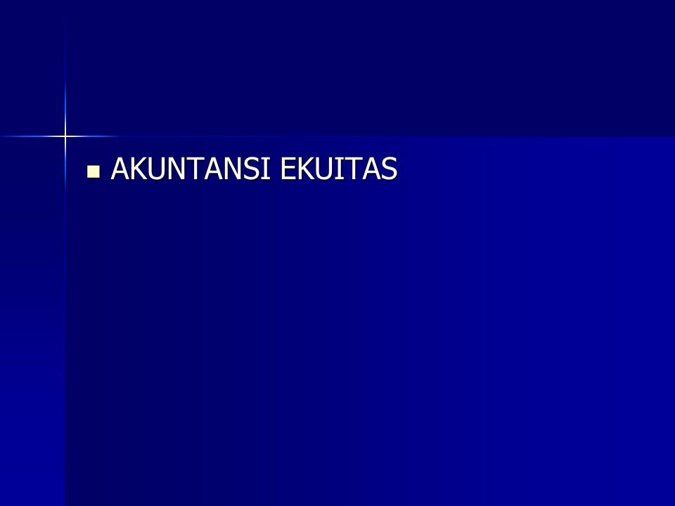 AKUNTANSI EKUITAS