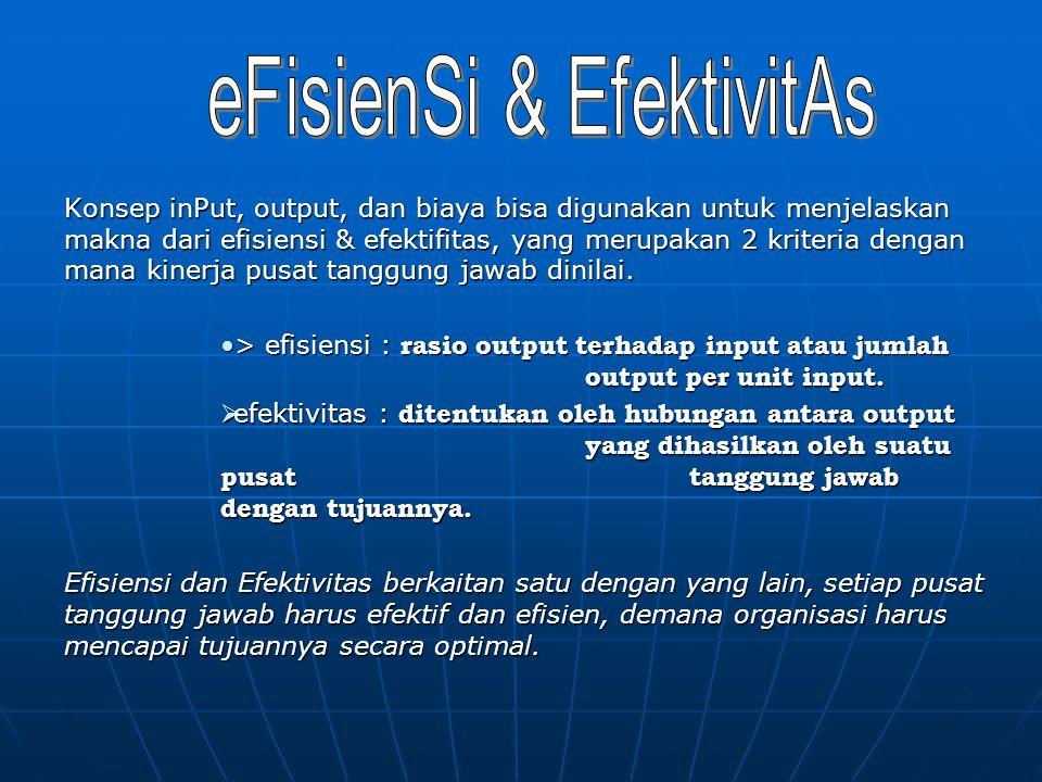 eFisienSi & EfektivitAs