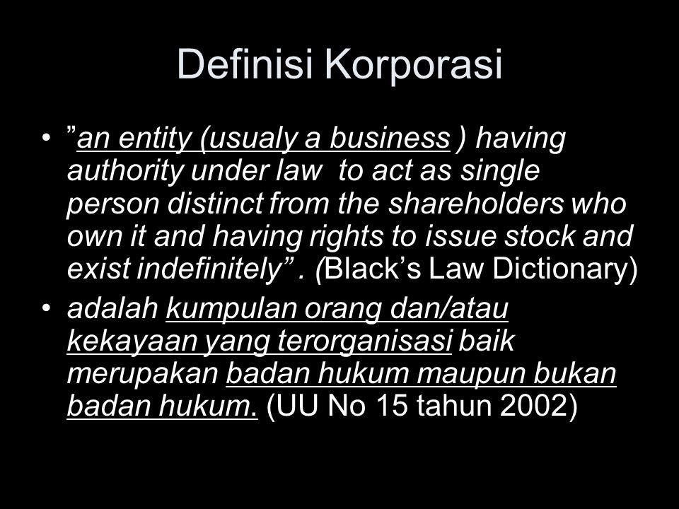 Definisi Korporasi