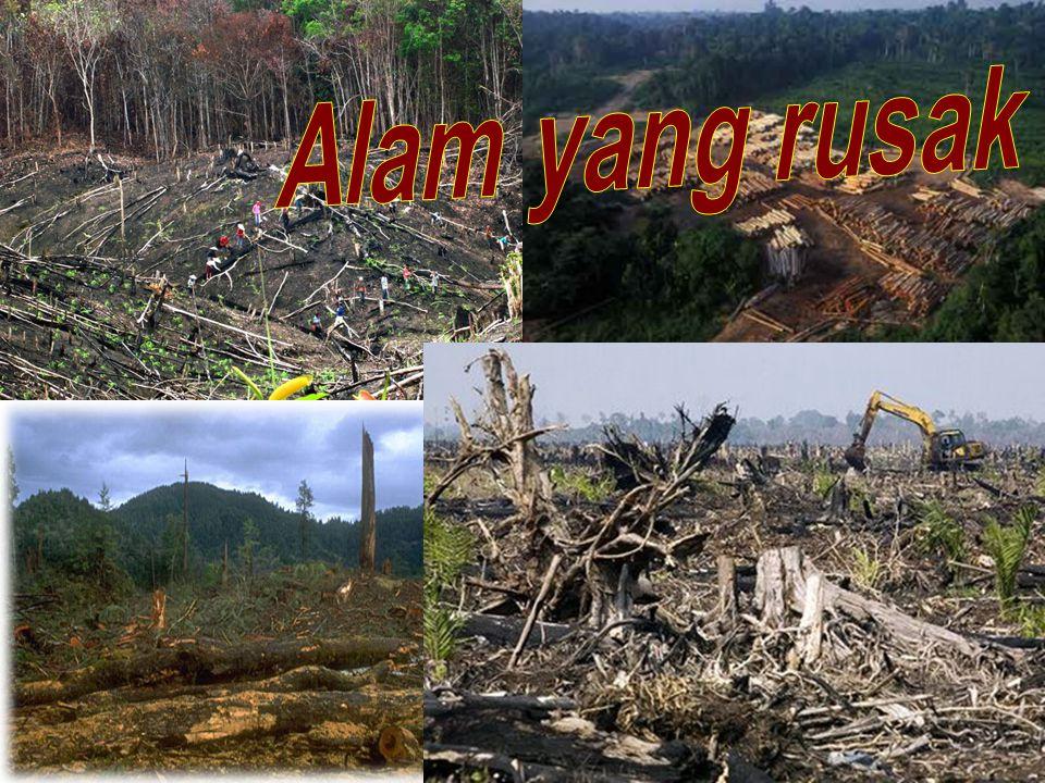 Alam yang rusak