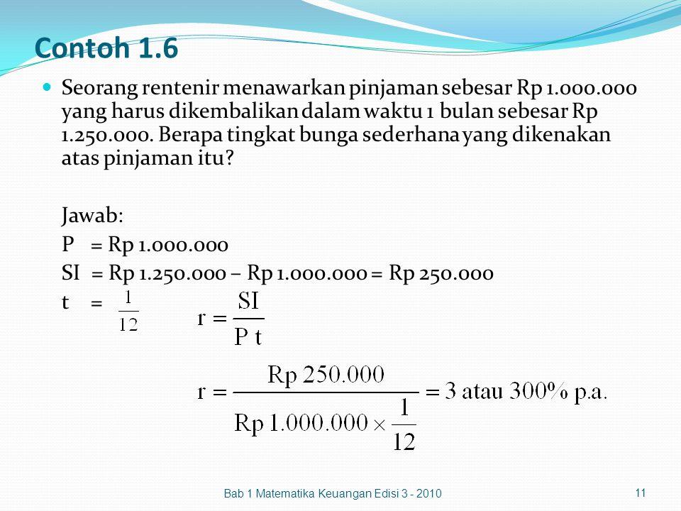 Contoh 1.6