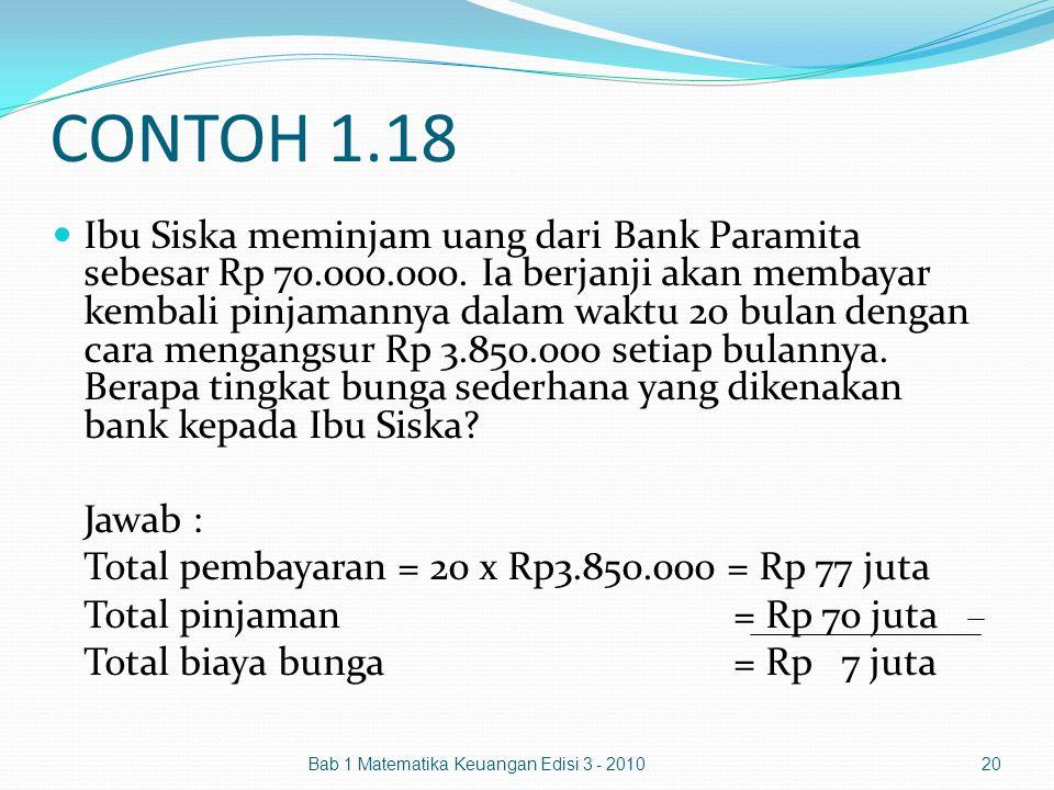 CONTOH 1.18