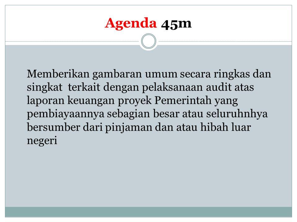 Agenda 45m