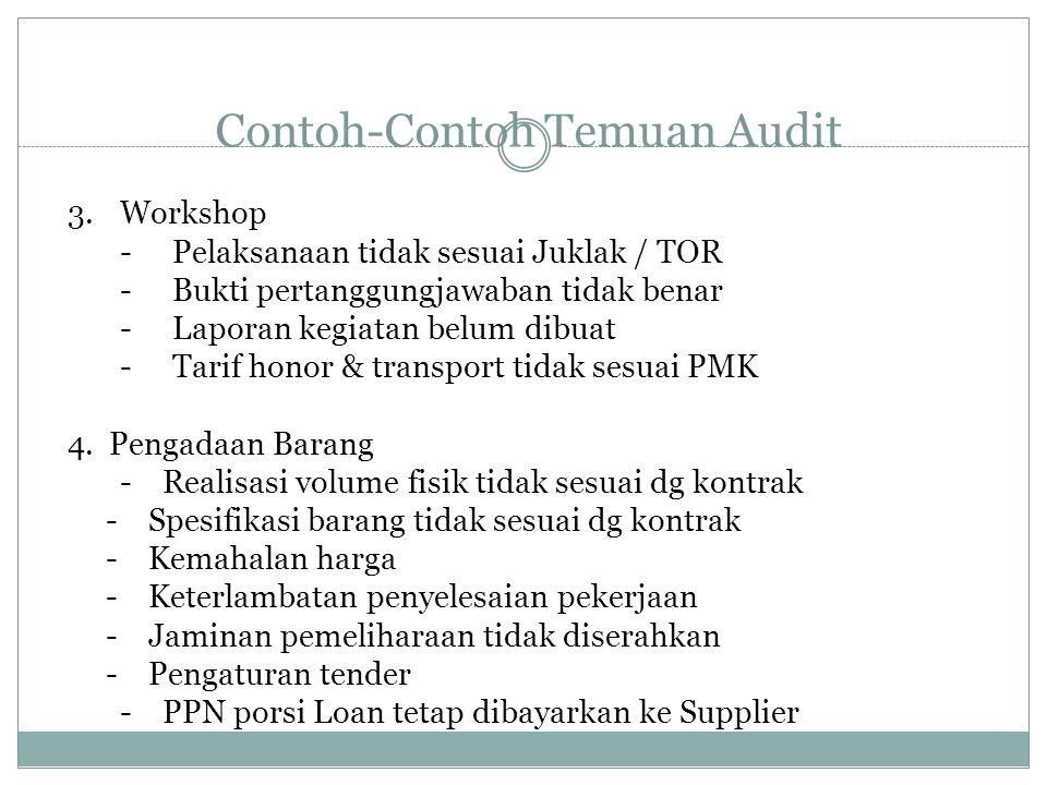 Contoh Laporan Keuangan Wajar Dengan Pengecualian Contoh Laporan Audit Dengan Wajar Tanpa
