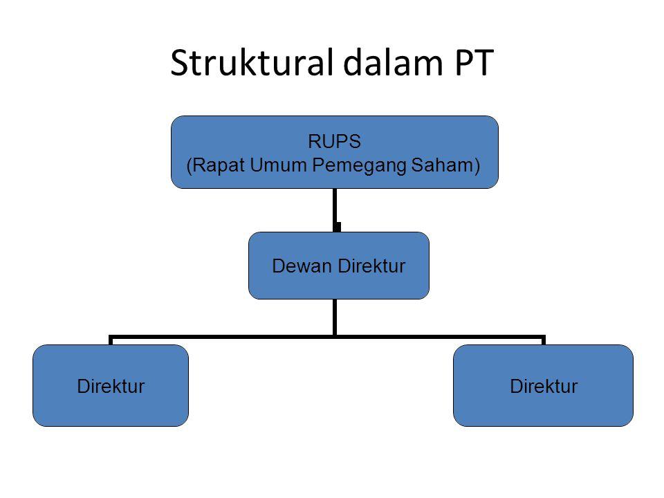 Struktural dalam PT