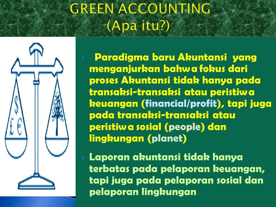 GREEN ACCOUNTING (Apa itu )