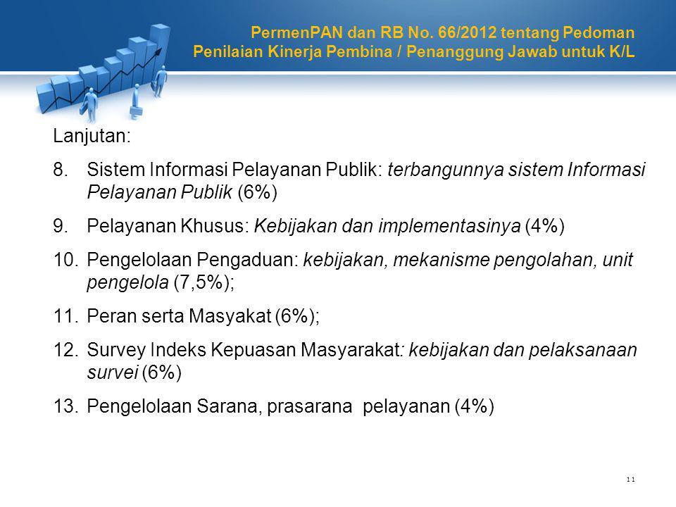 Pelayanan Khusus: Kebijakan dan implementasinya (4%)