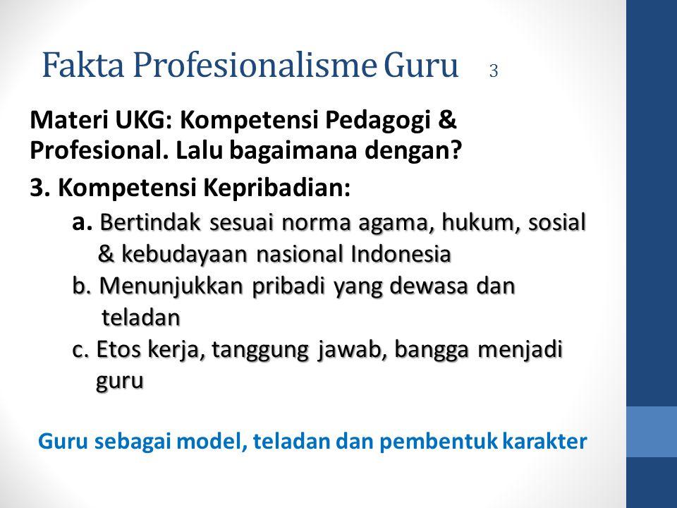 Fakta Profesionalisme Guru 3