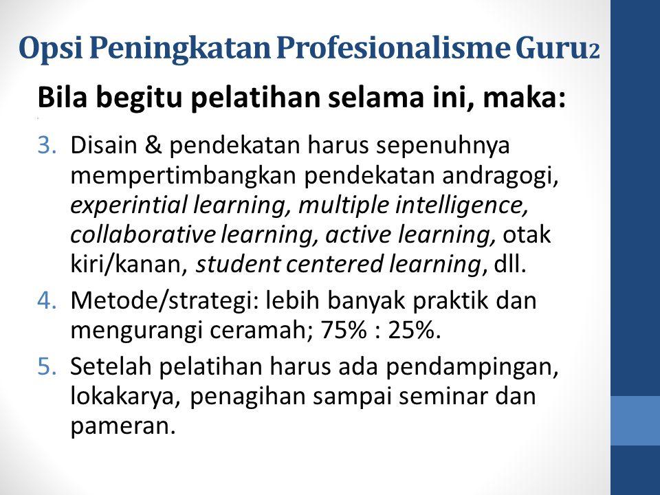 Opsi Peningkatan Profesionalisme Guru2
