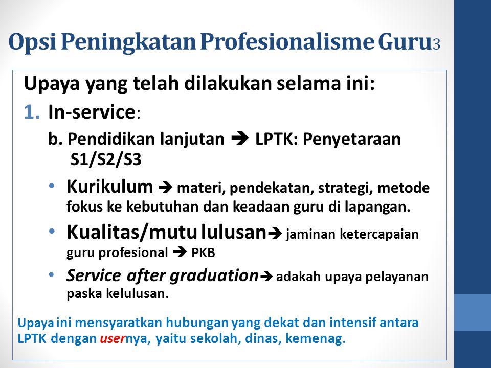 Opsi Peningkatan Profesionalisme Guru3