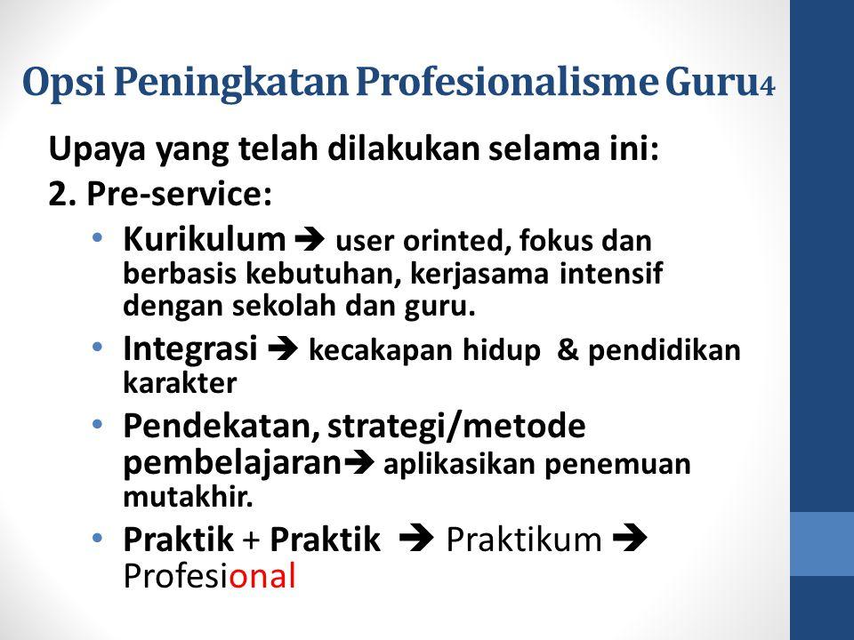 Opsi Peningkatan Profesionalisme Guru4
