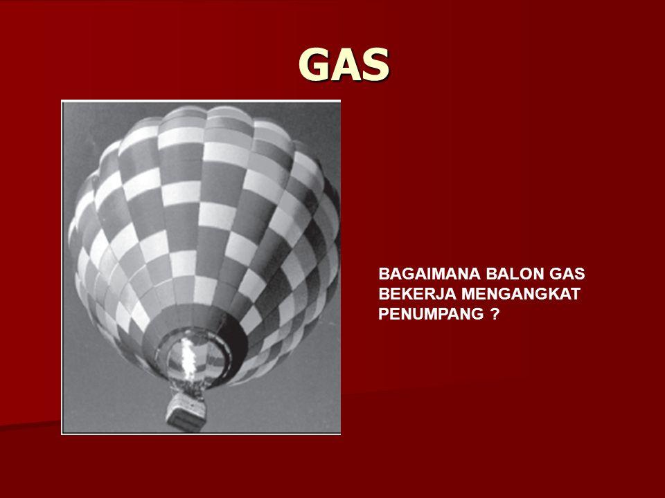 GAS BAGAIMANA BALON GAS BEKERJA MENGANGKAT PENUMPANG