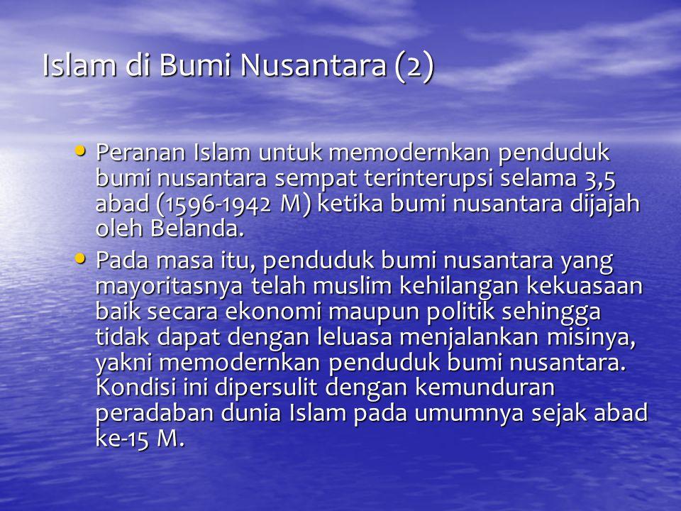 Islam di Bumi Nusantara (2)
