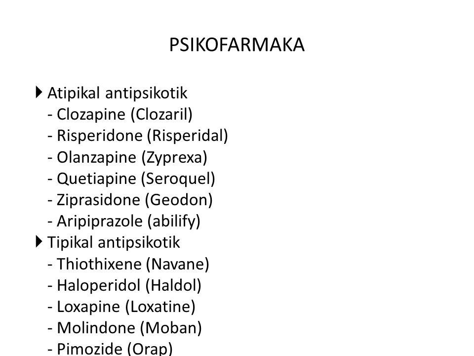 PSIKOFARMAKA Atipikal antipsikotik - Clozapine (Clozaril)