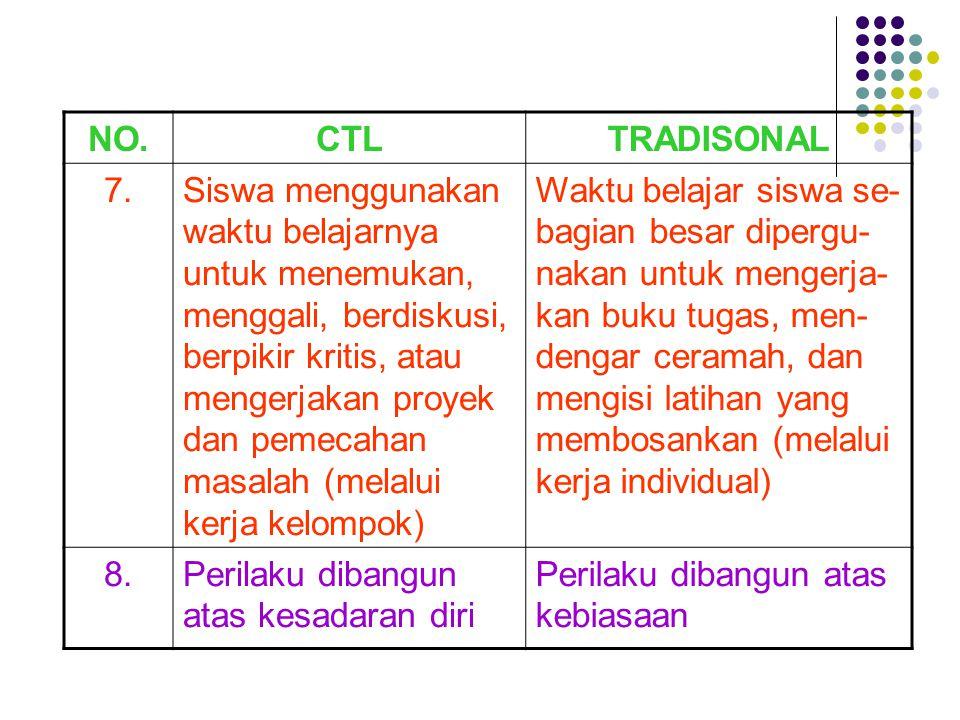 NO. CTL. TRADISONAL. 7.