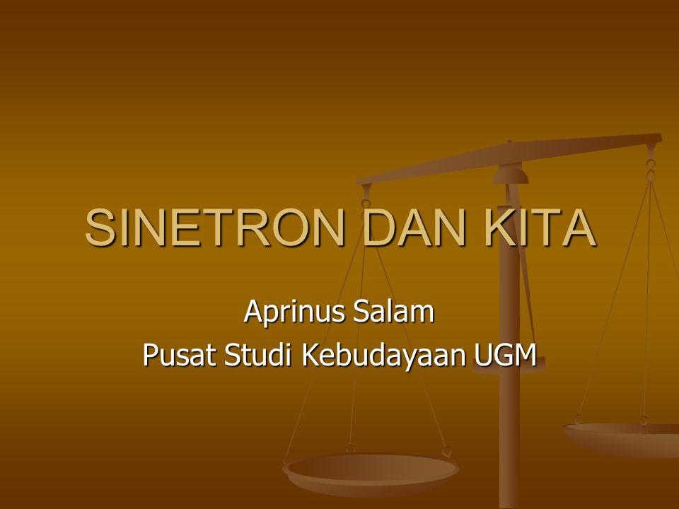 Aprinus Salam Pusat Studi Kebudayaan UGM