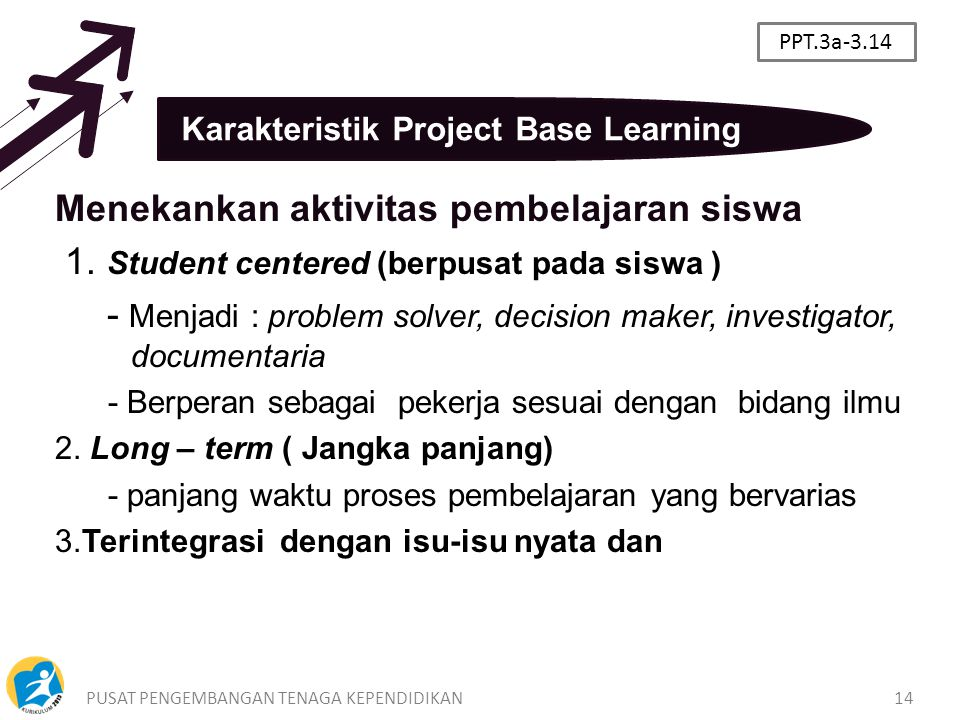 Karakteristik Project Base Learning