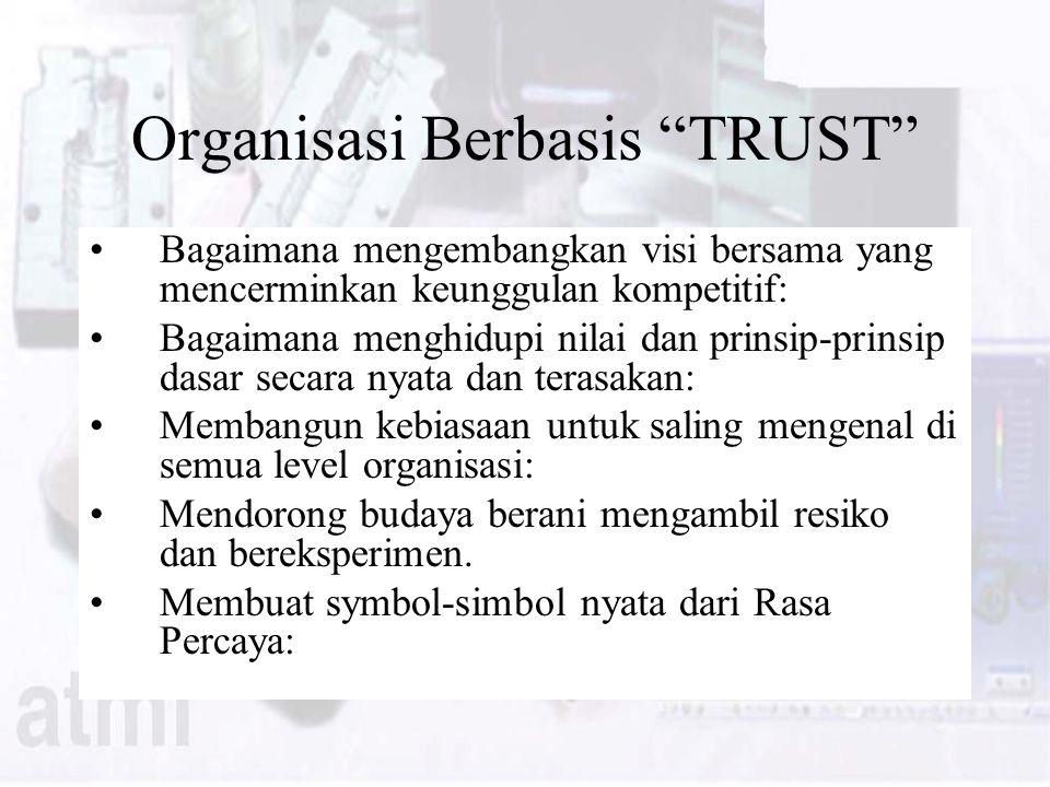 Organisasi Berbasis TRUST