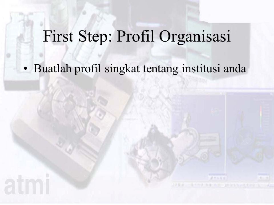 First Step: Profil Organisasi