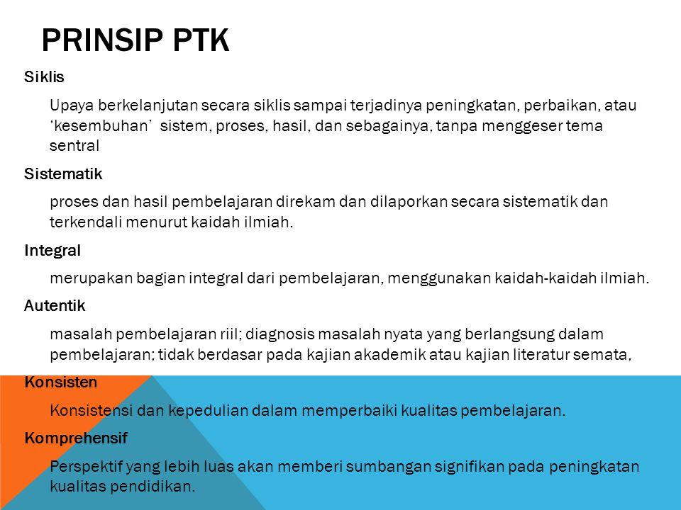 PRINSIP PTK