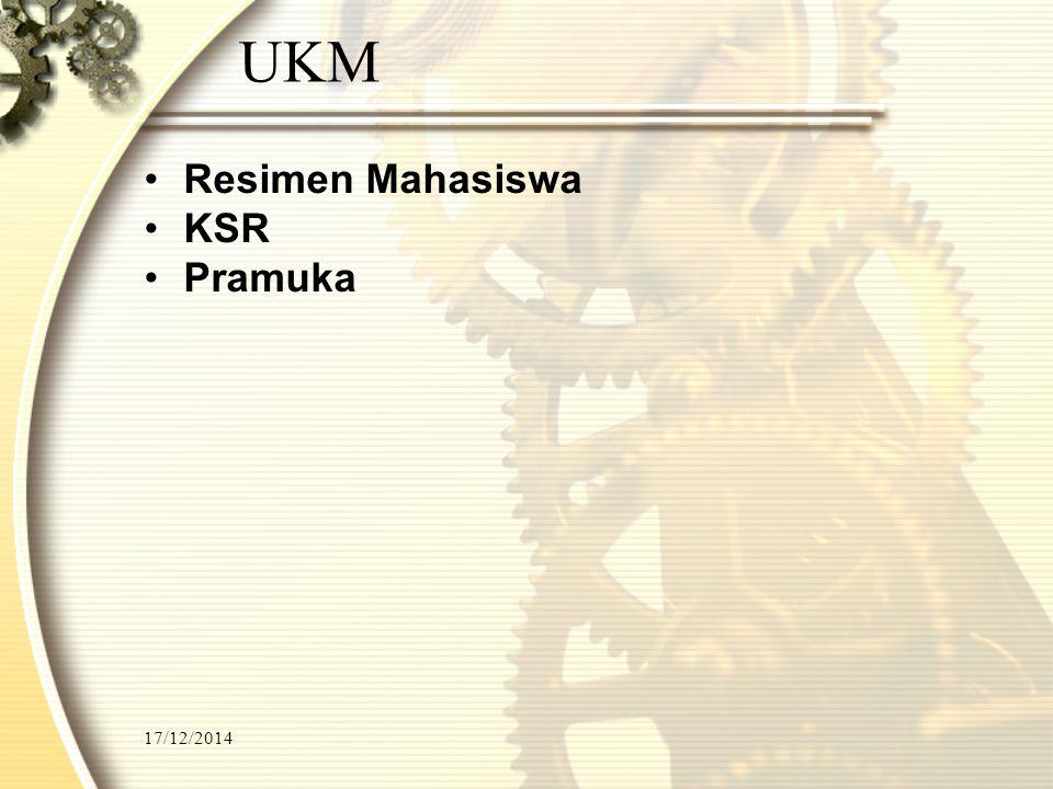 UKM Resimen Mahasiswa KSR Pramuka 07/04/2017