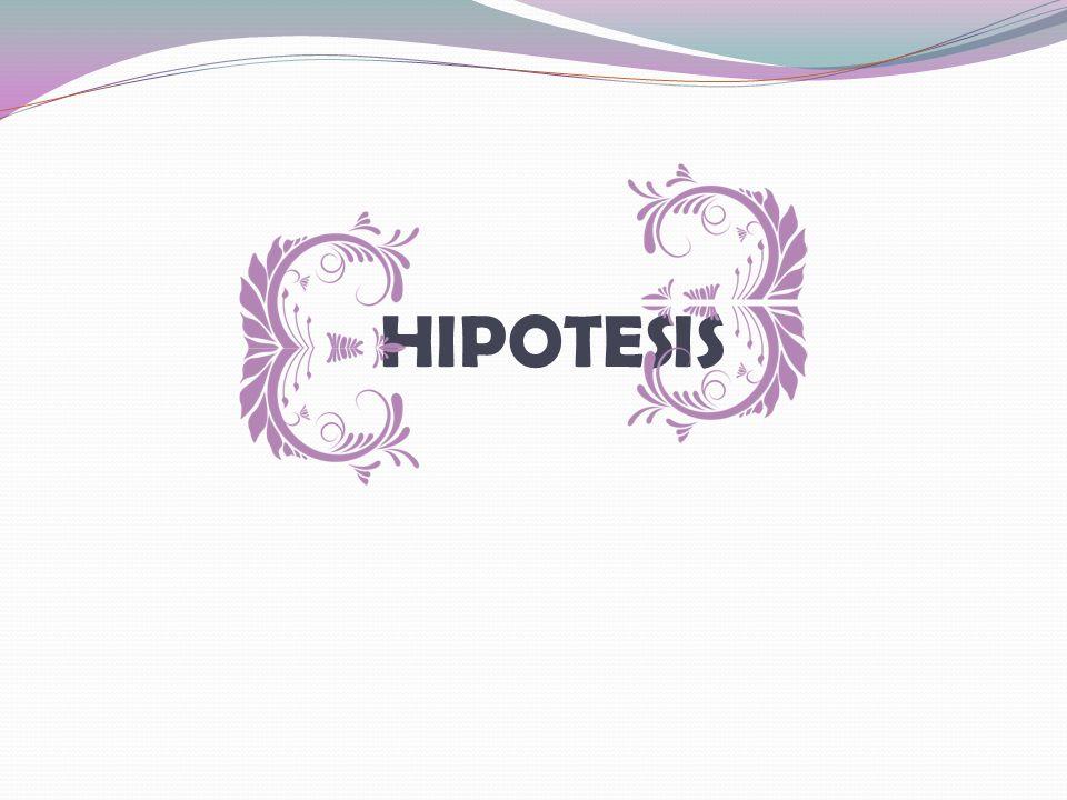 HIPOTESIS