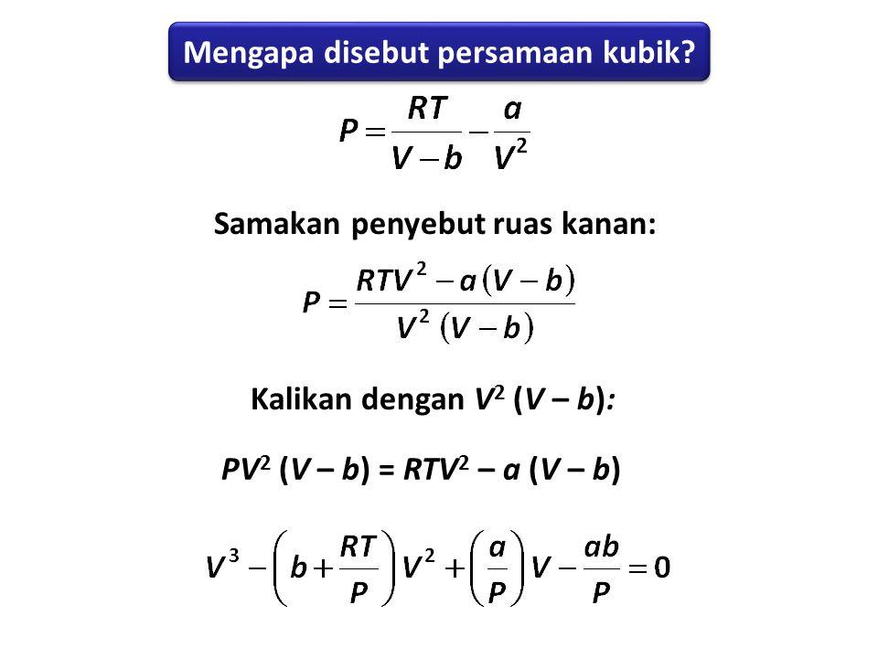 Mengapa disebut persamaan kubik
