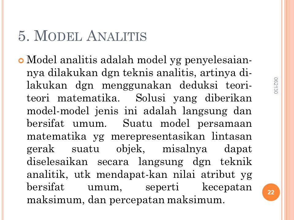 5. Model Analitis