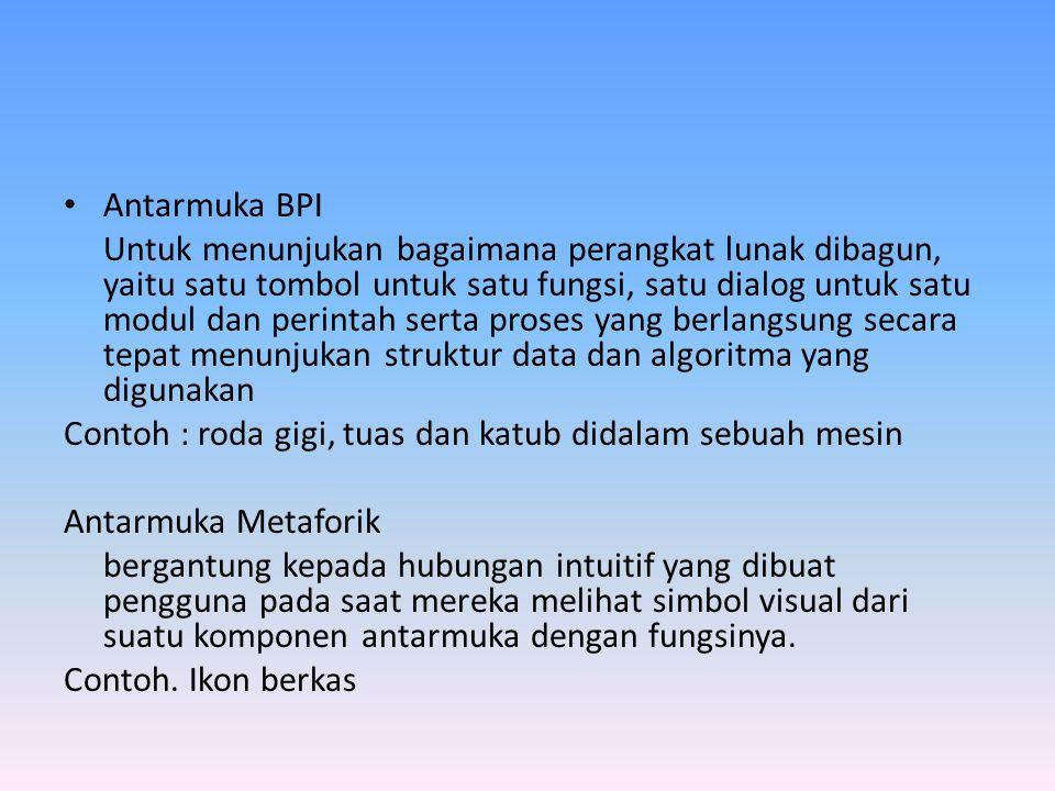 Antarmuka BPI