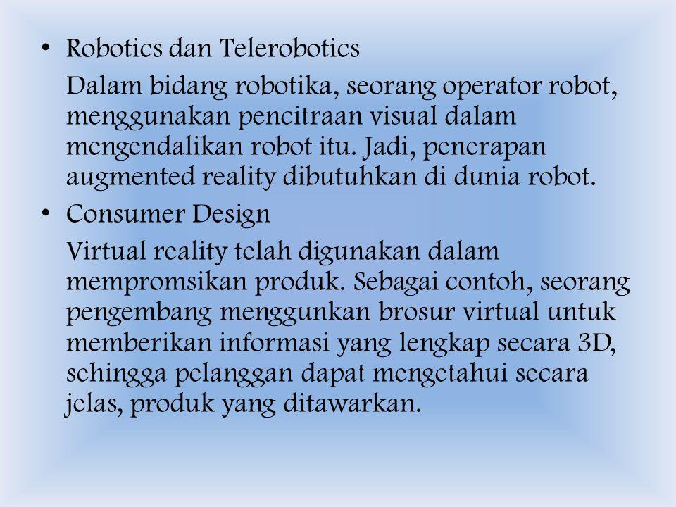Robotics dan Telerobotics