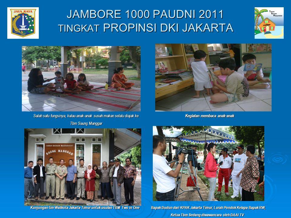 JAMBORE 1000 PAUDNI 2011 TINGKAT PROPINSI DKI JAKARTA