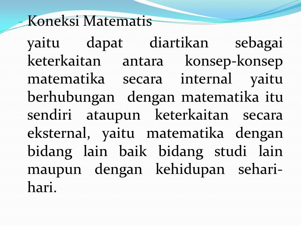 Koneksi Matematis
