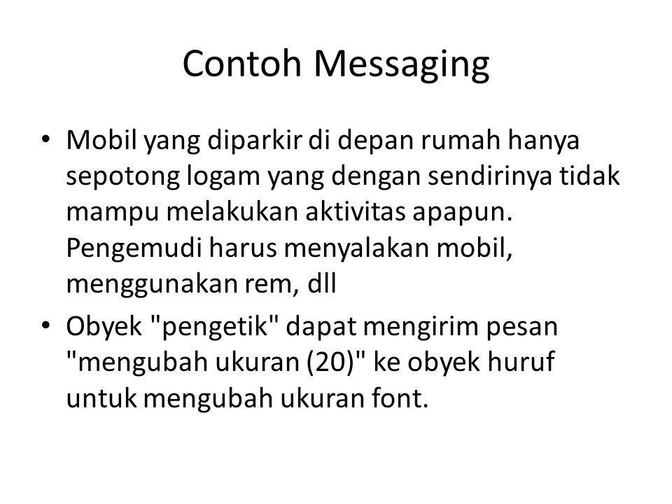 Contoh Messaging