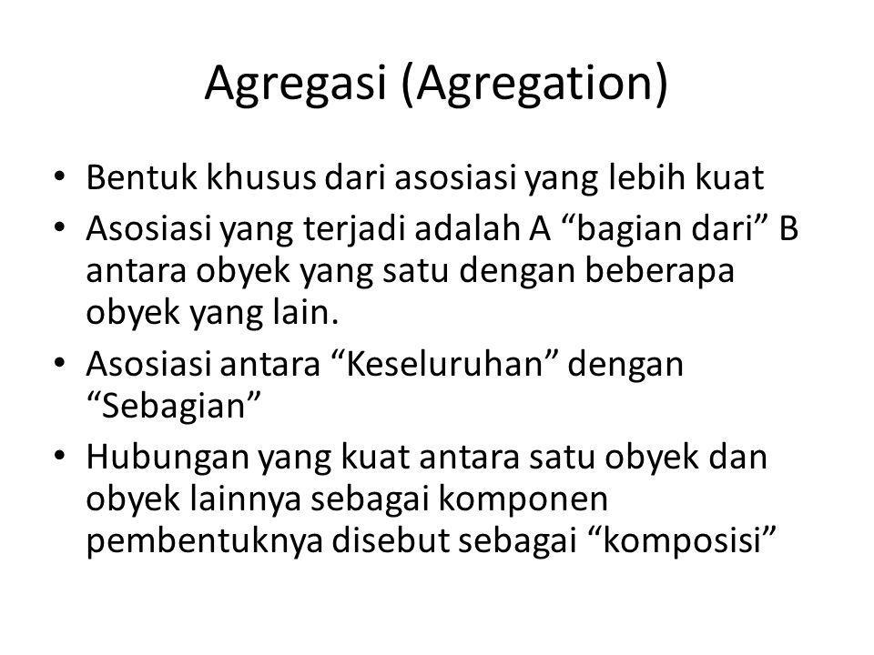 Agregasi (Agregation)