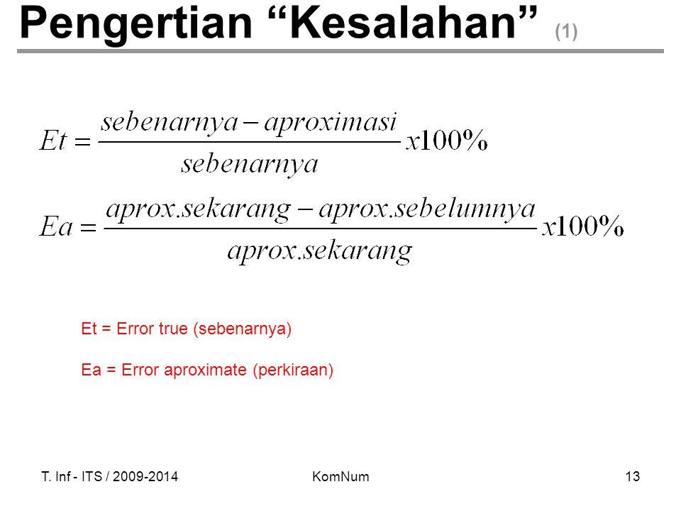 Pengertian Kesalahan (1)
