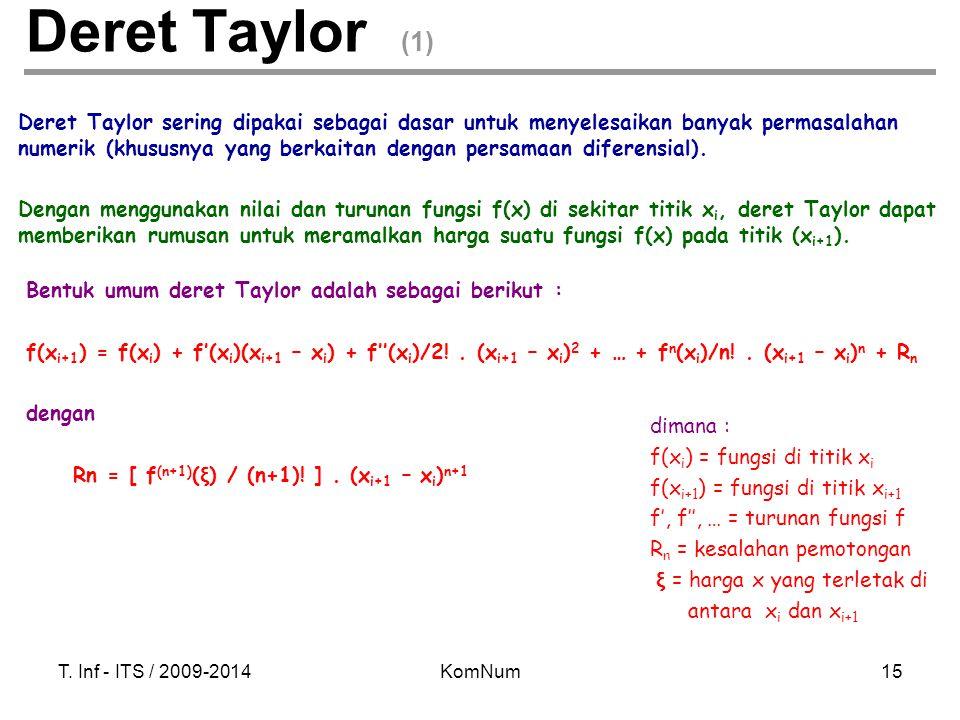 Deret Taylor (1)