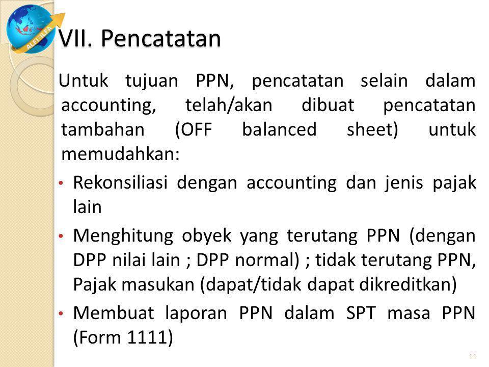 Mulai Januari 2011 berlaku SPT Masa PPN Form 1111