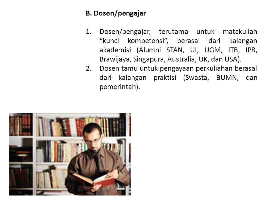 B. Dosen/pengajar
