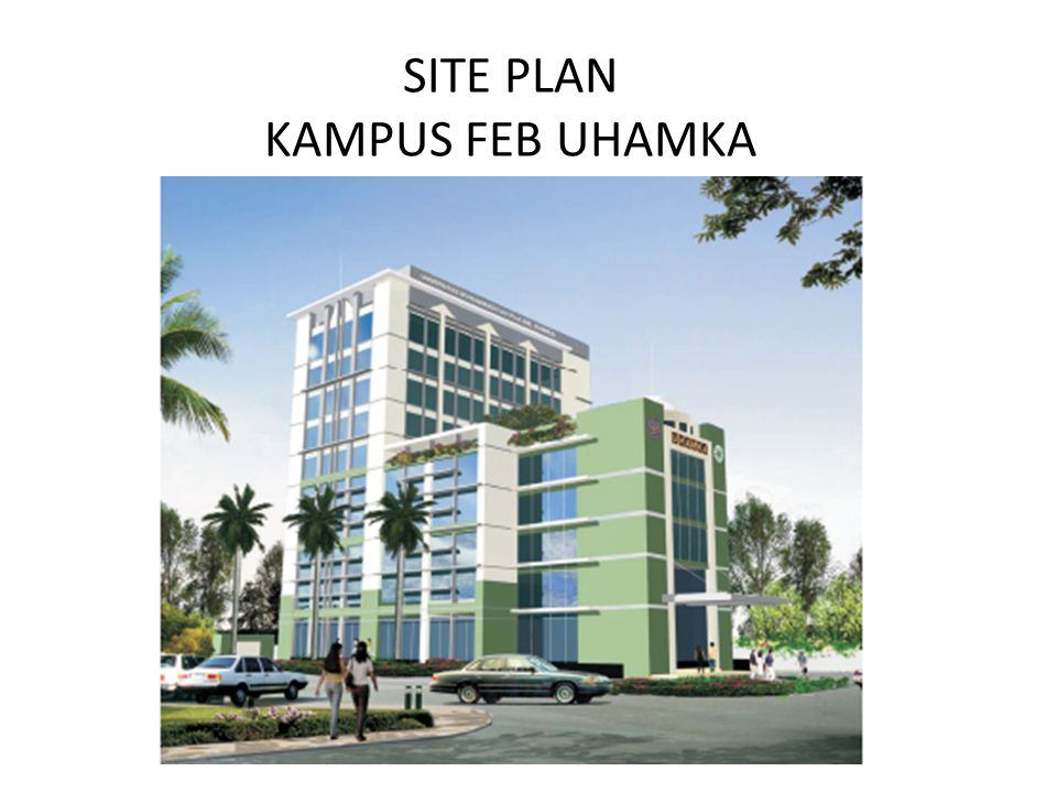SITE PLAN KAMPUS FEB UHAMKA