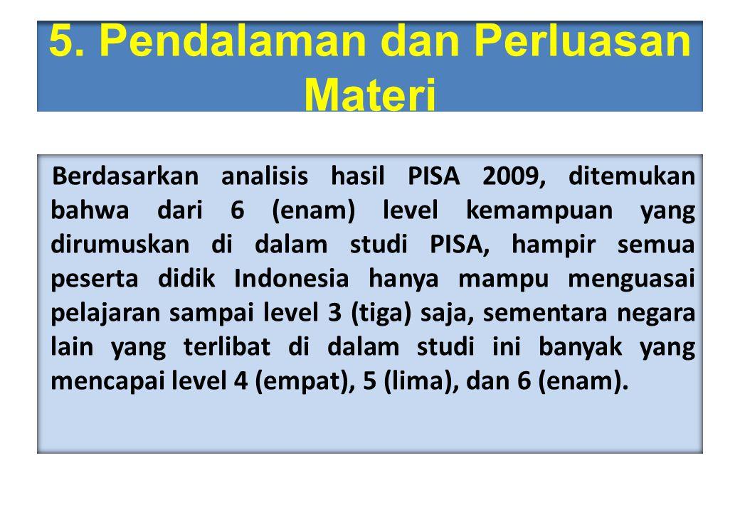 5. Pendalaman dan Perluasan Materi